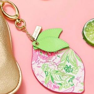 NWT Lilly Pulitzer bag charm